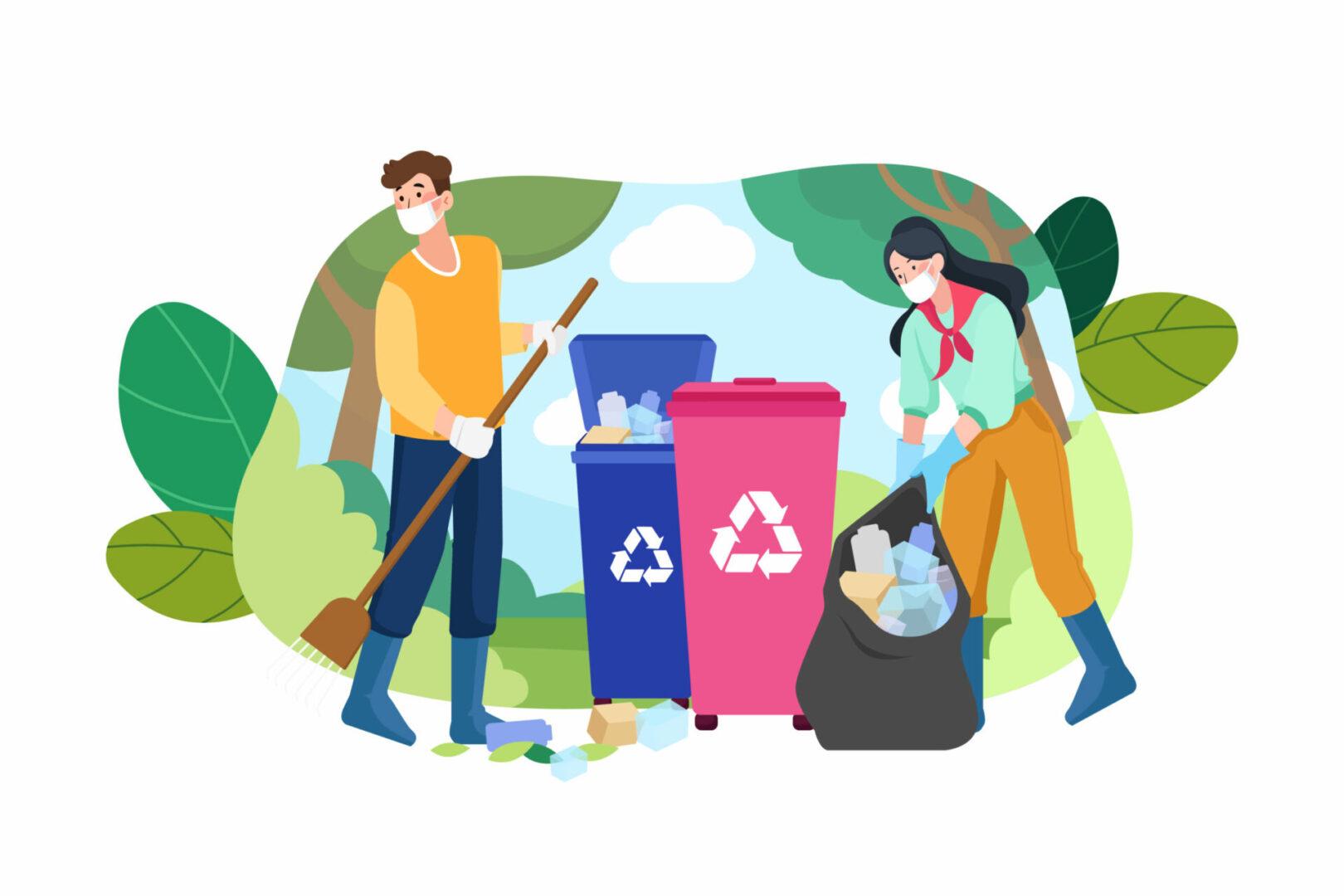 A reciclagem transforma seu lixo