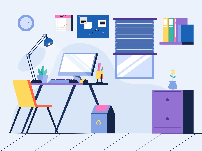 Dicas para um home office produtivo Riva Incorporadora