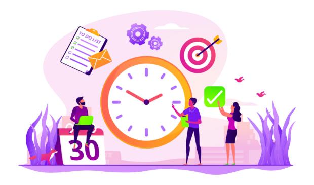 Como organizar a rotina diária e equilibrar trabalho e descanso?