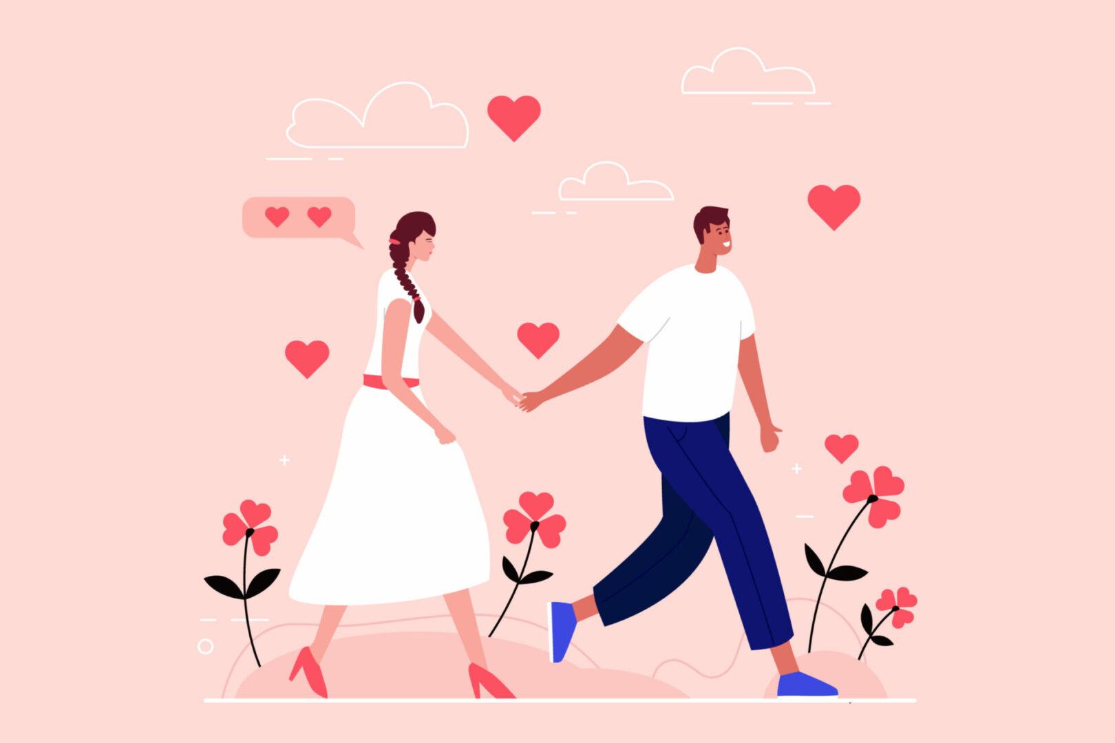 O amor é uma grande conquista